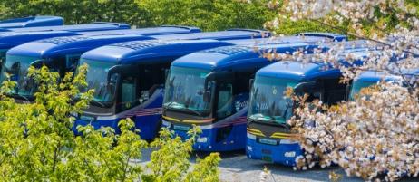 大新東のバス